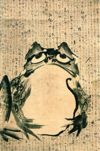If haiku poet Basho were alive, he would have tweeted his 'frog'