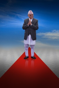 'Delhi ready to roll out red carpet to Oli'
