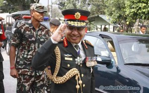 Nepal Army 'alert' to challenges in recent political developments