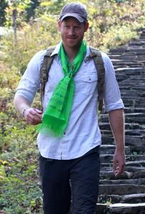 Goodbye Prince Harry. Do remember the Gurkhas please!