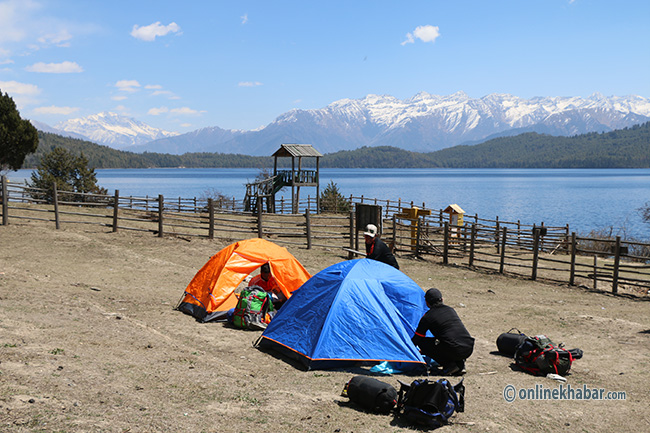 Heaven on Earth: Rara Lake witnessing a surge in the number of domestic, foreign tourists