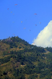 Will Pokhara international airport end up clipping paragliders' wings?