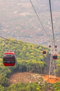 Up, up and Chandragiri: Kathmandu's first cable car to be launched within a month