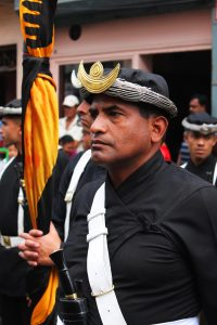 Meet the soldiers who 'call the shots' in Nepal's city of festivals