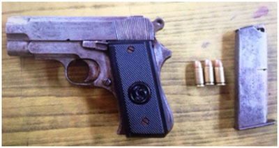 Four youths arrested from a Biratnagar hotel with a pistol