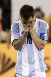 Fans around the world heartbroken after Messi quits