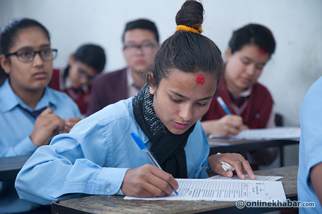 Myagdi students to receive sanitary pads during SEE