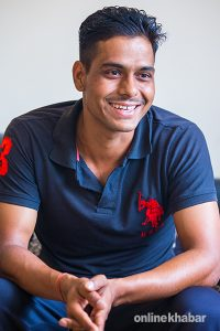 For this Nepali soldier, cricket pitch is where his battle is