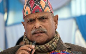 Former President Yadav warns of 'water conflict' in Madhesh