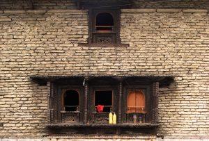 In Nepal's ancient salt hub Dana, a walk past yesterday