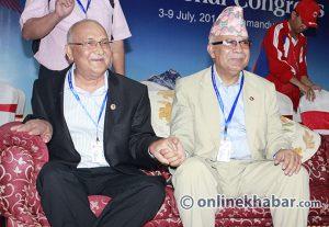 Madhav K Nepal returning to Oli-controlled UML