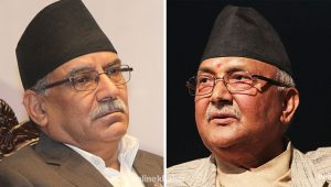 Both Oli, Dahal call NCP CC meeting for Tuesday