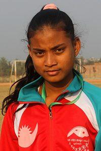 Bardiya express: At 15, barefoot athlete debuts at National Games, runs neck 'n neck with Olympian
