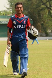 Rohit Paudel: The opening batsman who came in at no.8, scored half century
