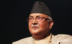 Oli not happy with decision to hold polls in two phases