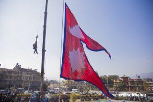 Eight arrested for burning national flag