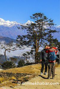 Gumba Danda in Eastern Nepal transforming itself as tourist destination