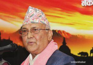 Oli on pilgrimage: Opposition leader meets Tibetan officials