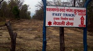 Nepal Army begins preparations to construct fast track