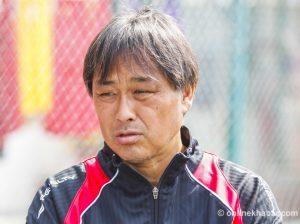 Nepal renews Gyotoku Koji's contract as national football coach