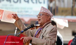Ruling parties trying to rig polls, accuses Oli