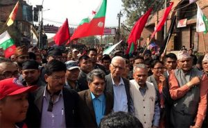 Naya Shakti chief Baburam Bhattarai detained