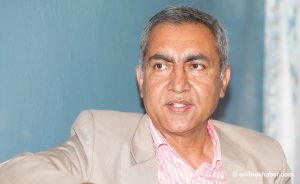 Kathmandu Mayor: Former Secretary Thapa announces candidacy for the post