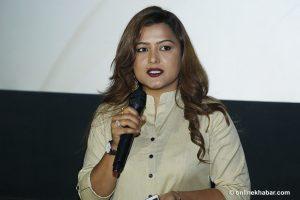RPP to field actor Rekha Thapa for Kathamandu's Deputy Mayor