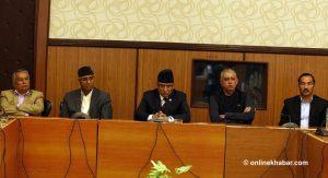 Deuba formally lays claim over government leadership; Maoist, RPP respond positively