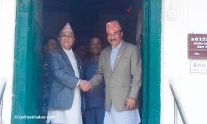 Constitution amendment: Thapa accuses Oli of trying to 'buy' RPP lawmakers
