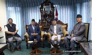 Put impeachment motion to vote immediately if no withdrawal: Oli to Dahal
