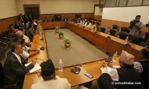 New government formation: UML boycotts Deuba's meeting