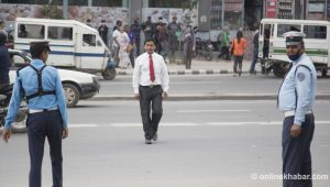 Kathmandu reports drop in human casualties due to road accidents