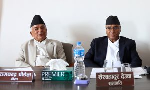 Nepali Congress: Paudel gives one-week ultimatum to Deuba to address concerns