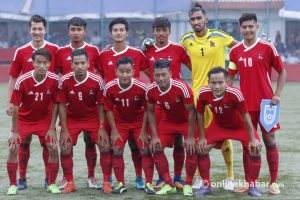 Nepal youth football team play practice match against Thailand today