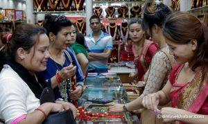 Floods affect jewellery market outside Kathmandu Valley