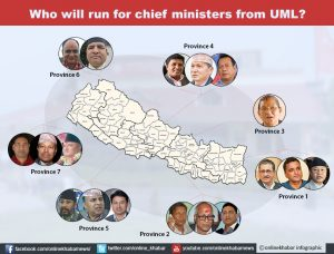 UML to finalise chief ministerial candidates before November polls