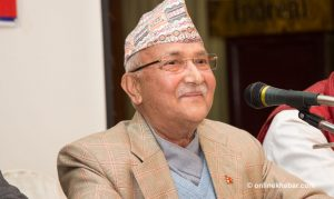 UML unwilling to take Oli to Madhesh for electioneering as 'big' mass assembly unlikely