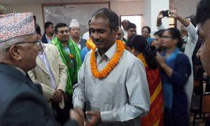 RJPN's joint general secretary joins UML
