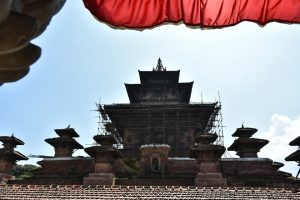 Kathmandu's Taleju temple used to be open every Mahanawami, but Covid-19 shut it this year