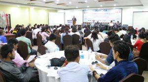 Youth discuss leadership and Sustainable Development Goals