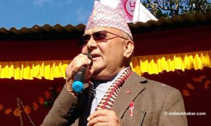 Madheshi parties running away from constitution amendment discussions: Oli