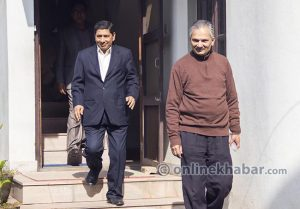 Bhattarai, Shrestha attempt skip for war accusation hangs over them as sword of Damocles