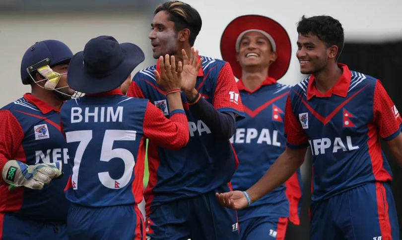 Nepal Stun India in U-19 Asia Cup Cricket
