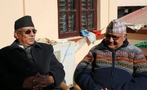 Oli, Dahal in one-on-one 'decisive' negotiation