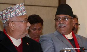 Oli, Dahal to issue directives to left alliance task force