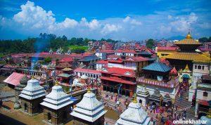Coronavirus fear looms as Pashupati Temple draws more Indian pilgrims
