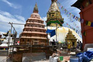 Kathmandu's first-ever Buddhist chaitya excavation