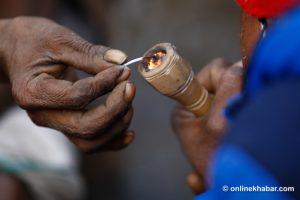 Maha Shivarati: 39 arrested for buying, selling marijuana in Pashupati area