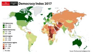 Nepal moves eight positions up in Democracy Index thanks to successful polls